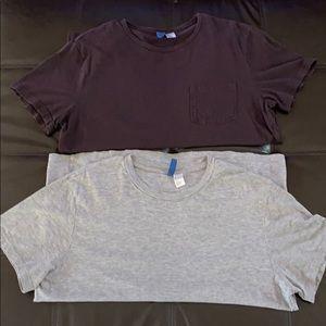 H&M classic tee-shirts